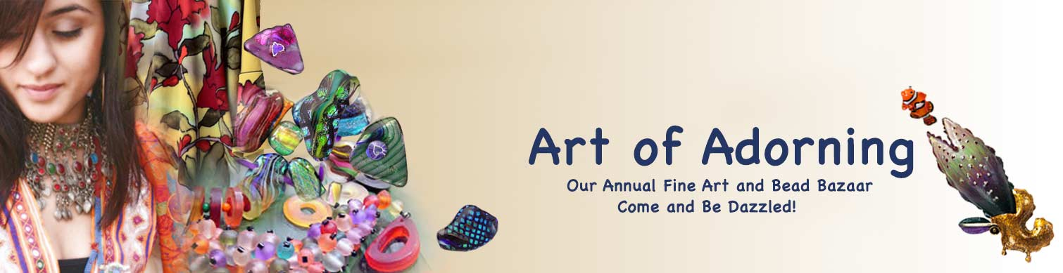Bead Society of Orange County annual Art of Adorning event at the Bowers Museum