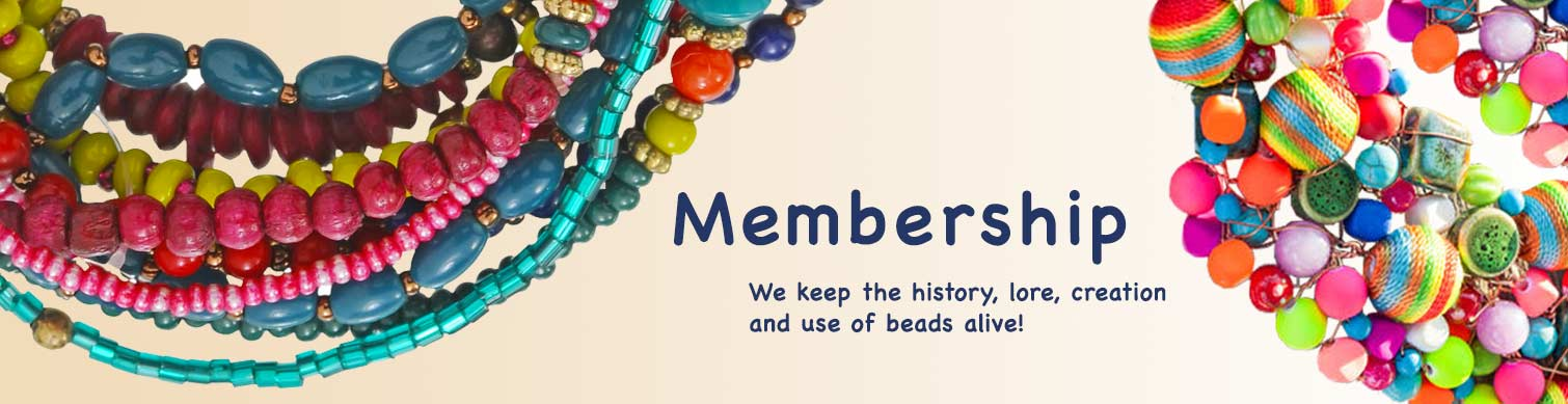 Bead Society membership header