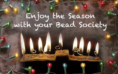 The Bead Society Annual Holiday party Saturday December 9, 2017 at the Bowers Kidseum