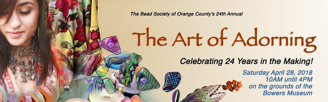 Art of Adorning celebrating its 24th year at the Bowers Museum - Saturday April 28